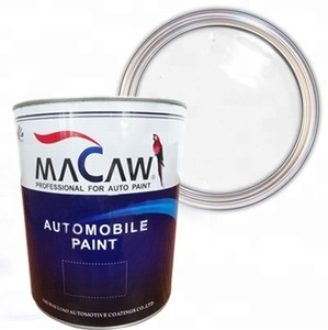MACAW 1K solid color WSM34 tinting white acrylic basecoat car paint