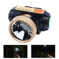 8~12 Hour Work Time 500m Throw Distance 4006 Li-on Battery Rechargeable LED Headlamp