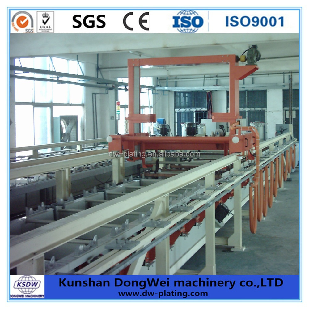 semi-automatic chemical nickel barrel plating line