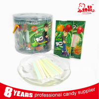 Popular Fruit Flavor CC Stick with Sour Powder Candy