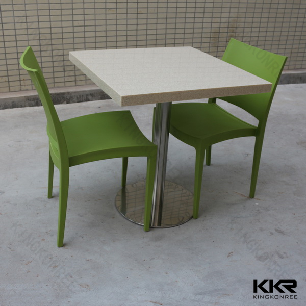 Solid surface restaurant chaise et table buy restaurant for Chaise restaurant