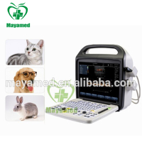 Medical laptop veterinary ultrasound scanner products 15 inch portable color doppler veterinary ultrasound machine for vet