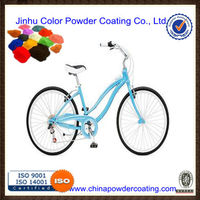 powder coating spray to paint bicycles