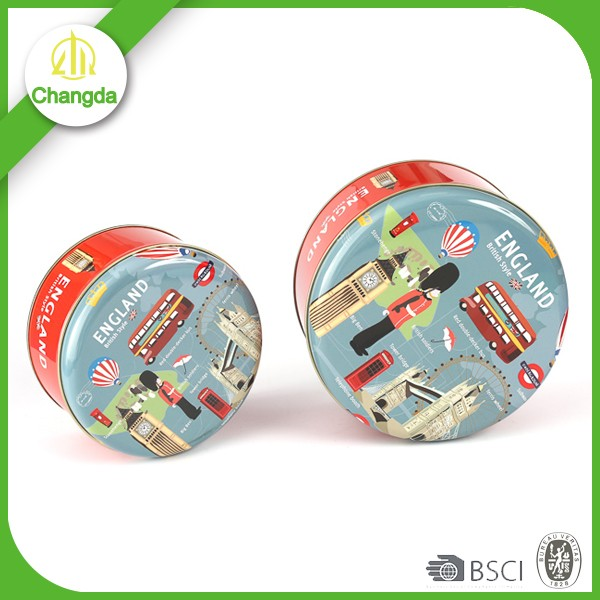 High quality environment-friendly production printing ink flash drive fancy empty candy tin box