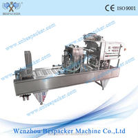 automatic16 cups coffee capsule filling and sealing machine coconut powder cup sealing machine coffee pod sealing machine