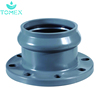 Names of pvc pipe fittings with rubber plastic pipe factory water supply plumbing