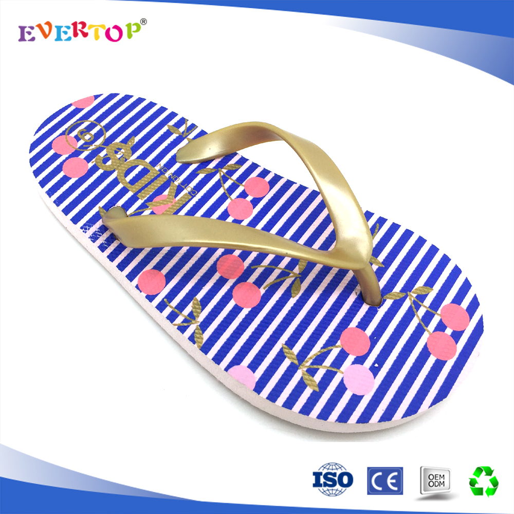 2017 cheap shoes and Comfortable Casual Eva litter girl footwear design outdoor flip flops girl