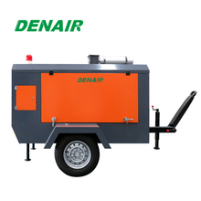 diesel mobile air compressor for concrete breaker DACY series