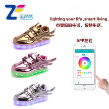 JLS0469 Nueva APP controlled led zapatos <span class=keywords><strong>payless</strong></span> mujeres