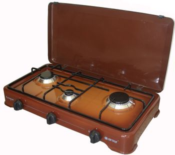 Gas Cooker-Three Burner