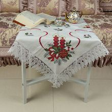 Best seller many colors environmental cross stitch table linens