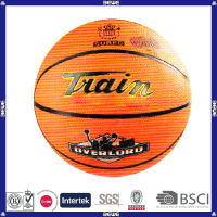 new style made in China good quality customized logo rubber basketball