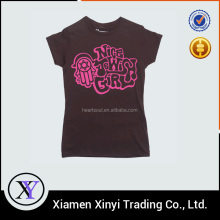 Fashion clothing latest new women printed tshirt online shop