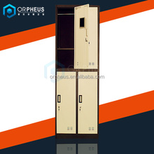 Traditional style gym sport used 4 compartment locker
