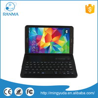 Cheapeat price 8.4 inch bluetooth wireless keyboard leather case stand