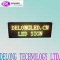 CE RoHS programmable multi-language P16mm 32X96pixel red green (2R1G) electronic outdoor led sign