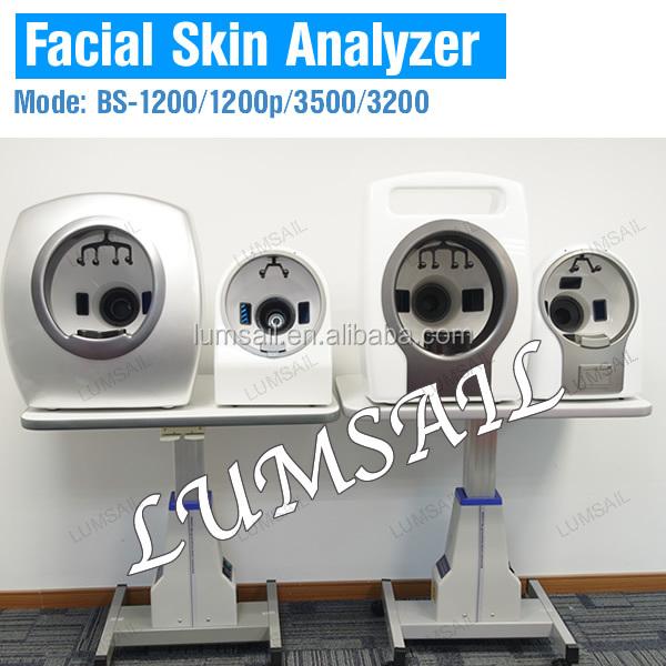 Magic mirror face skin analyzer 3D skin scanner machine