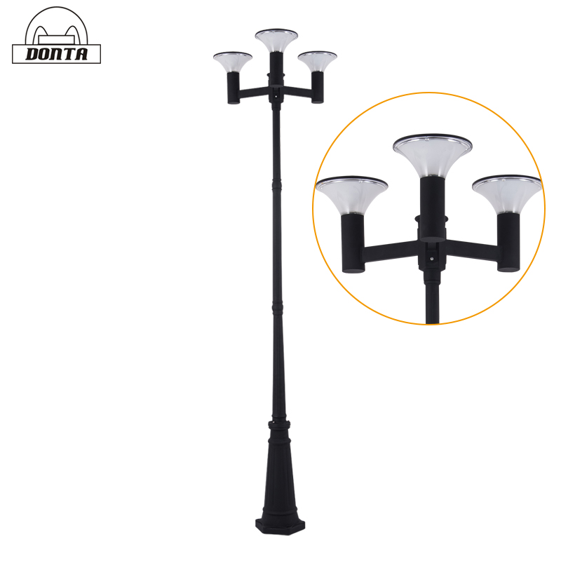 outdoor solar powered led landscape lights
