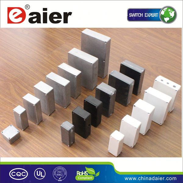 DAIER ip65 aluminium rectangular box