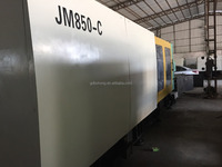 Taiwanese 850T used plastic injection machine/ Chen Hsong JM850-C with servo motor