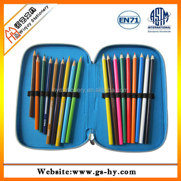 alibaba china professional marco pencil 24 color raffine branded rainbow color pencil set