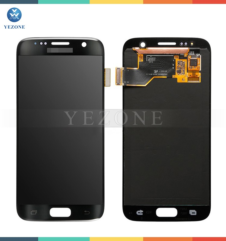 Black Touch Display For Samsung Galaxy S7 Edge G935A G935V G935P G935T G935F Screen Replacement LCD