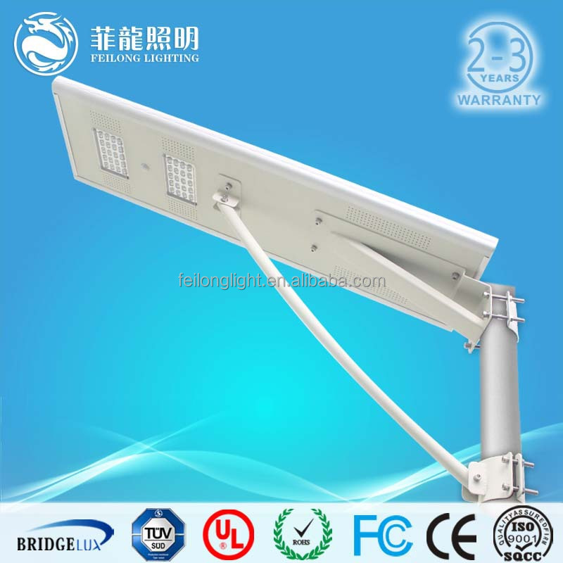 Wholesalers china solar panel system integrated solar led street light