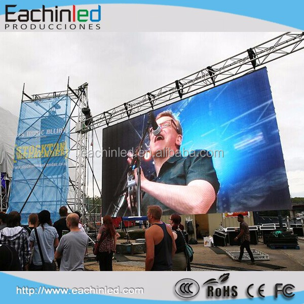 2016 Newest Full Color HD Outdoor LED Video Wall Panel Price On Sale for Concert