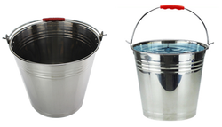 Factory Durable Large Stainless Steel Water Bucket 16L