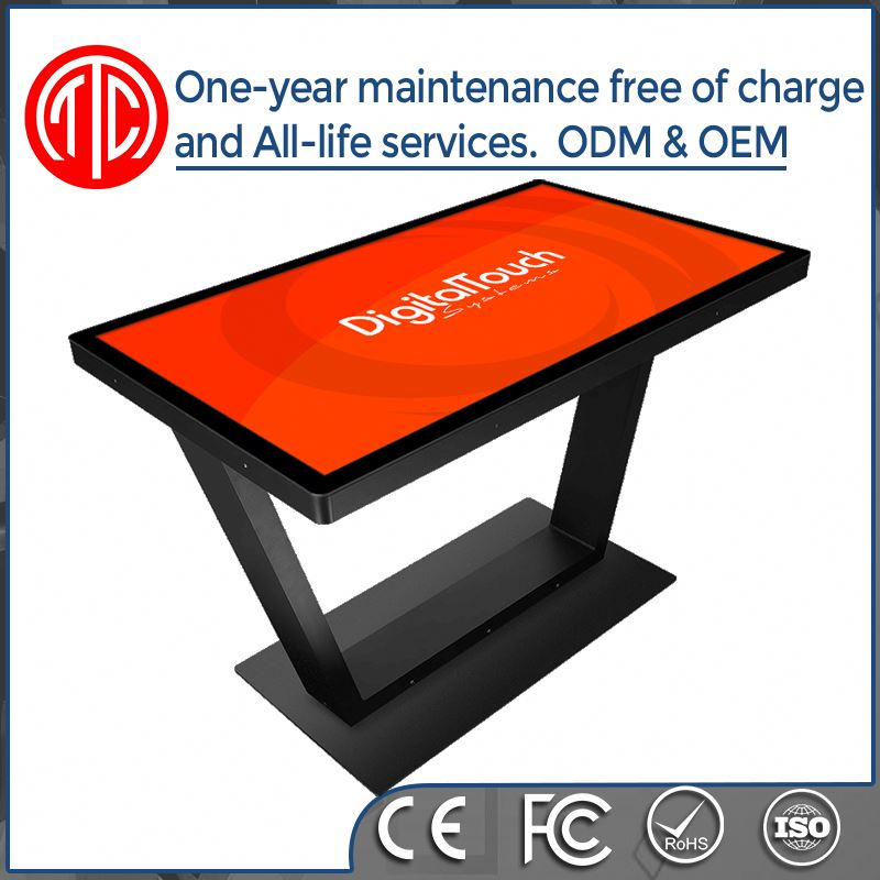 32 inch 42 inch 46 inch touch screen 42 inch interactive multi touch table/fllor standing kiosk