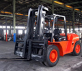 Heavy duty 10 ton capacity diesel forklift CPCD100