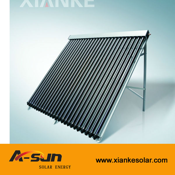 ISO9001 You Tube 18 Water Bong Solar Super Heat Pipe Collector