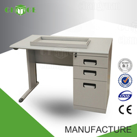 School/ home furniture metal make computer table for sale drawing desk