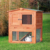 Outdoor Wooden House Cheap Double Decker Rabbit Hutch