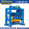 QT40-2 Block making machines manufactures, Manual concrete block machine