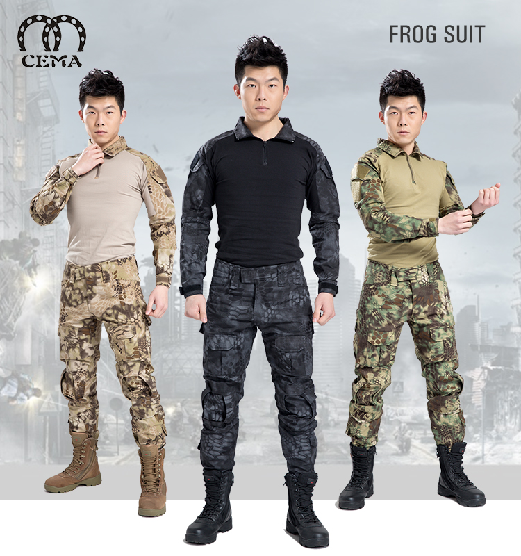 Hot Sale military Frog Combat Suit