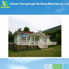 Economic prefabricated steel kit modular log cabins (manufacturer)