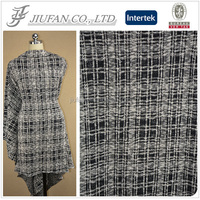 Jiufan Textile High Quality Manufacture TR Hacci Fabric New Style Knit Chunky Terry Fabric Cotton Polyester Fabric
