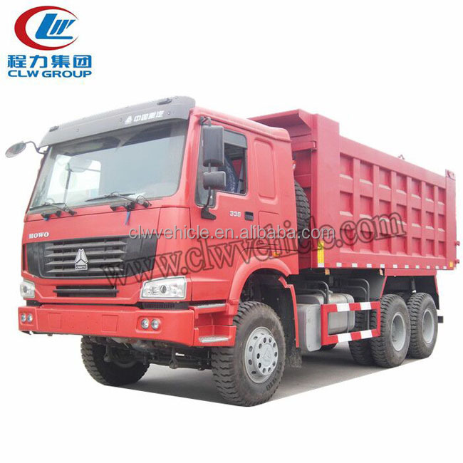 8X4 tipper truck howo wheel truck ZZ3317N4267A dump truck for sale