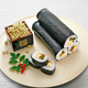 Yaki Roasted Seaweed Sushi Nori Blue Green color 100sheets 50sheets Gaishi Brand Chinese Raw Material