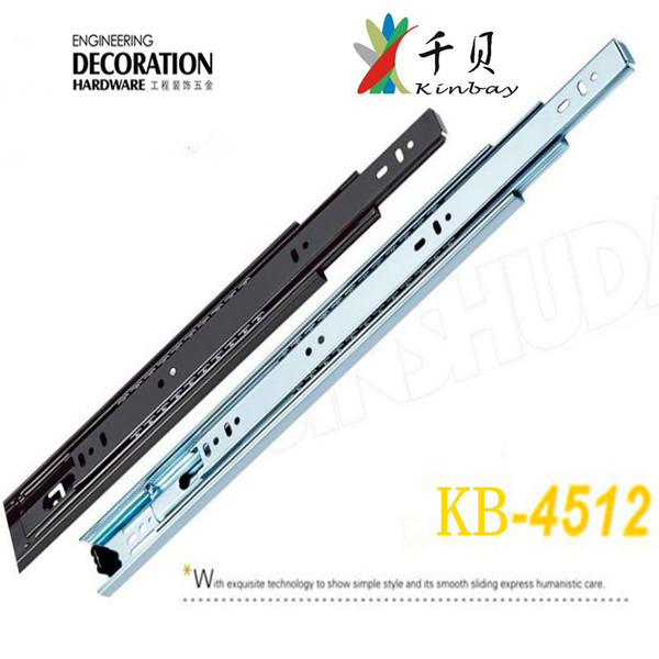 2017 Years new design telescopic channel drawer slide for cabinet