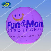 cheap led global inflatable advertising balloons