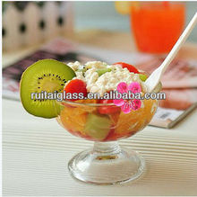 2013 New Design High Quality Small And Useful Ice Cream Glass Cup