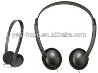 Professional bus headset disposable headphone from Shenzhen factory