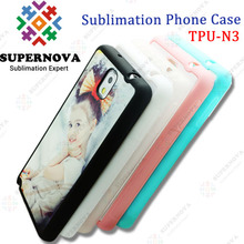 Custom Printed Mobile Silicone Phone Case for Samsung Note3