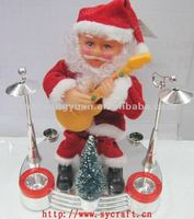 2015 playing guitar father/New year gifts/ decoration father