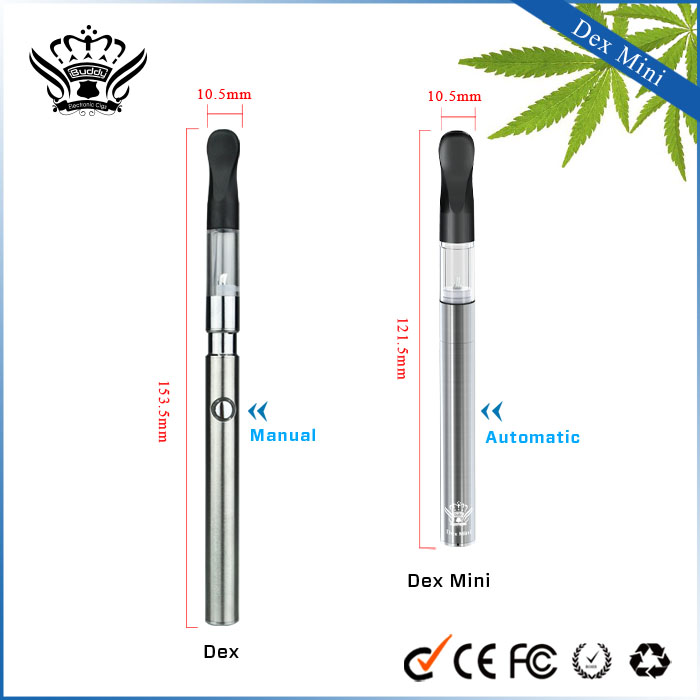 Hot no-cotton 0.5ml wickless oil vaporizer quit smoking devices no leaking wax vaporizer smoking device