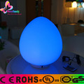 Waterproof plastic led table drop lamp with color changing