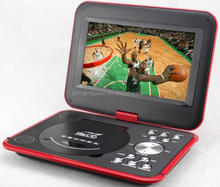hottest 7inch video portable evd/vcd/dvd player with fm/tv /movies high quality portable dvd player