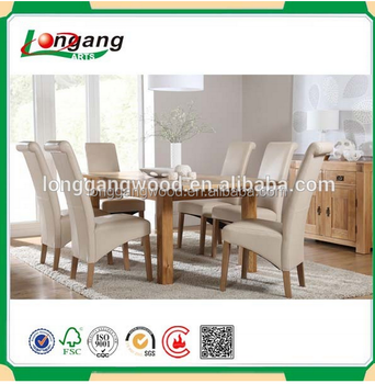 Restaurant Wooden Dining Table And Chairs Simple Solid Wooden Table And  Chair Solid Pine Dining Table And 6 Chairs   Buy Restaurant Wooden Dining  ...